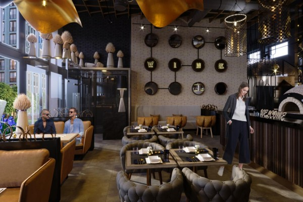 Вино и брускетта. Ресторан в Москве